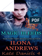4 - Magic Bleeds - Ilona Andrews