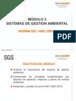 M3 ISO 14001 2015