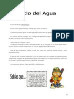 IV Bim - 1er. Año - Bio - Guía 2 - Ciclo Del Agua