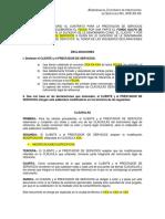 12.26 Addendum a Contratos Para Sub Proyectos