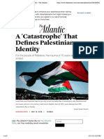 A 'Catastrophe' That Defines Palestinian Identity - The Atlantic