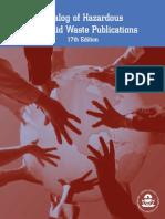 Catalog Hazardous Solid Waste Publications 2004