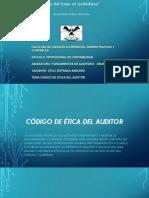 Codigo de Etica Del Auditor