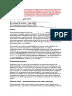 Elaboracion y Presentacion Informe