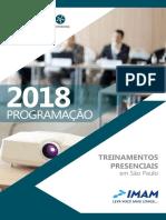 Programacao Cursos IMAM 2018