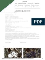 Leucita (Leucite)