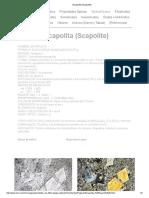 Escapolita (Scapolite)