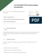 ISTA Technicien Spécialisé Electromécanique Des Systèmes Automatisés Supmaroc _ Supmaroc