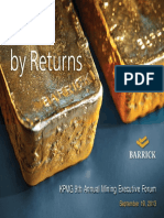 KPMG 9th Annual Mining Executive Forum