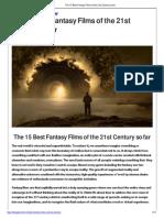 The 15 Best Fantasy Films of the 21st Century So Far