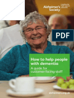 How to Help People With Dementia a Guide for Customer-facing Staff