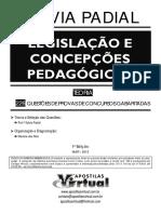 Sylvia Padial Legislação e Concepções Pedagógicas. 1ª Edição Mar 2013