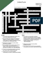 Untitled Puzzle Key
