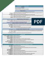 Cronograma 2018-2019 CI ACI
