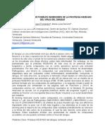 Tamizado Virtual de Posibles Inhibidores de la Proteasa NS2B-NS3 del Virus del Dengue