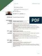 Gilberto Mtz - Resume