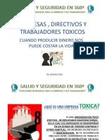 Empresas , Directivos y Trabajadores Toxicos