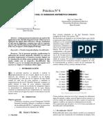 Informe sumador -restador