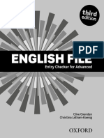 EF Advanced Enrty Checker