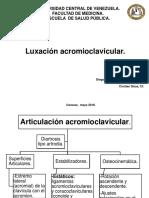 Luxación Acromioclavicular.