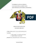 Estudio de Mercado en La Elaboracion de Nectar de Granadilla