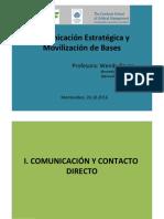 Comunicacion Estrategica y Movilizacion de Bases