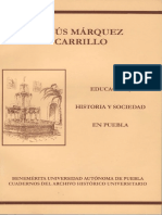 Educación, historia y sociedad en Puebla