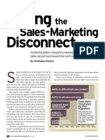 Curing the Sales Marketing Divide