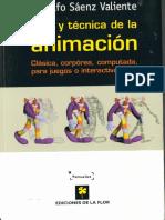 Arte y Tecnica de La Animacion de Rodolfo Saenz Valiente