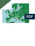 Mapa Europa Capitales