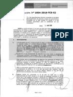 RESOLUCION N°1054-2018-TCE (RECURSO APELACION).pdf