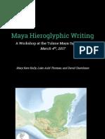 Introduction to Maya Hieroglyphs 2017