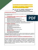 Resumen Plan de Gobierno Municipal App