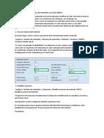 MM Cómo Modificar Precios de Materiales Con Stock (MR21)