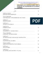 Reglamento de Construcciones de Chilpancingo