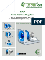 Catalogo Tecnifan Plug Fan TPF