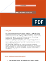 Conceptos lingüísticos