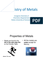 3. Metal and Extraction