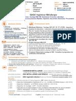 CV -AIT KOUFI - Ingenieur Metallurgie Soudage CND Revetement - Equipements Macaniques - SH (1)
