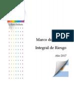 Marco de Gestion Integral Del Riesgo