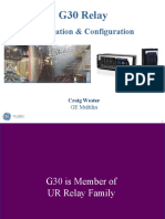 GE Multilin-g30 Training