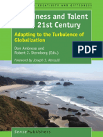 [Advances in Creativity and Giftedness 10] Don Ambrose, Robert J. Sternberg (Eds.) - Giftedness and Talent in the 21st Century_ Adapting to the Turbulence of Globalization (2016, SensePublishers)