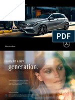 Mercedes-Benz A Class Catalogue 2015
