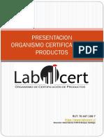 Presentacion LABOCERT Spa