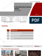 RF Network Planning & Optimization Service V100R005 Training Slides (UMTS ASP) 01-En