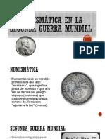 La Numismática en La Segunda Guerra Mundial
