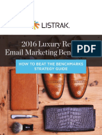 2016 Luxury Retail Benchmarks