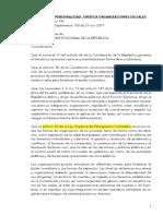 Decreto Ejecutivo 193 Reglamento Personalidad Jurídica Organizaciones Sociales 2018