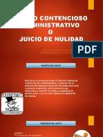 Juicio Contencioso Administrativo Ante El TFJFA 2015
