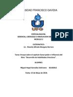 Ensayo Capitulo 5 Libro Desarrollo de Habilidades Directivas